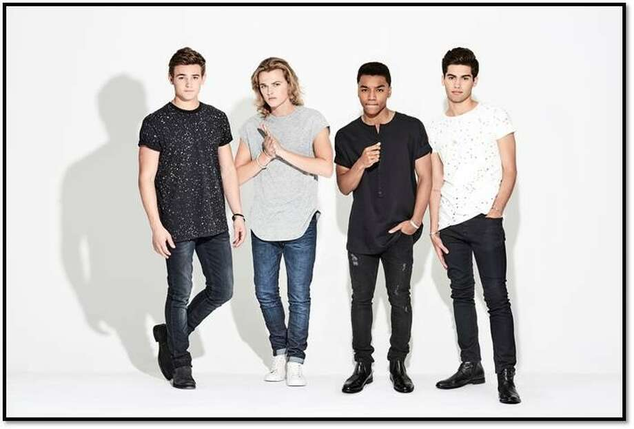 """CITIZEN FOUR is a newly signed Island Records pop group hailing from all over the US. Josh Levi, second from right, is a Houston native and was on """"The X Factor."""" Photo: Island Records"""
