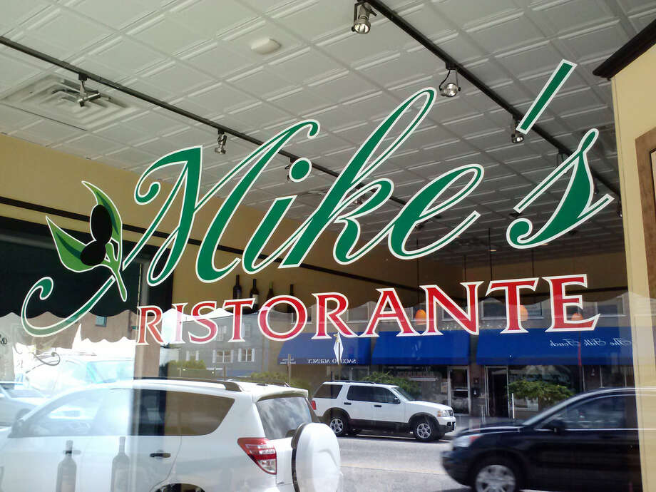 Photo by Frank Whitman Mike's Ristorante on Main Street in Norwalk.