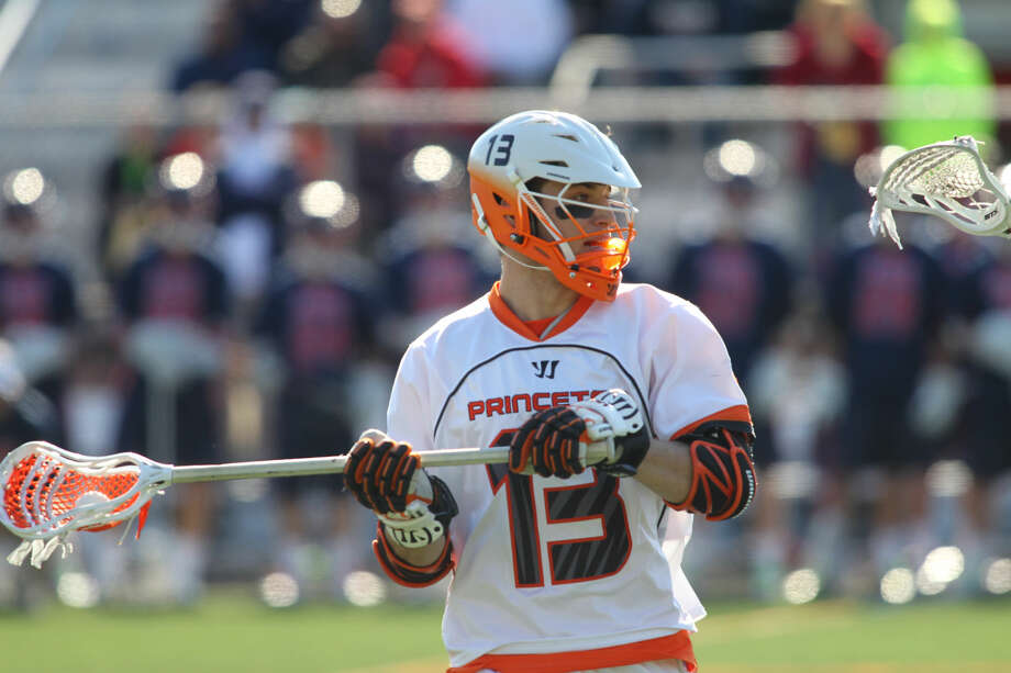 Princeton University men's lacrosse vs. the University of Pennsylvania, Princeton, NJ, March 15, 2014.