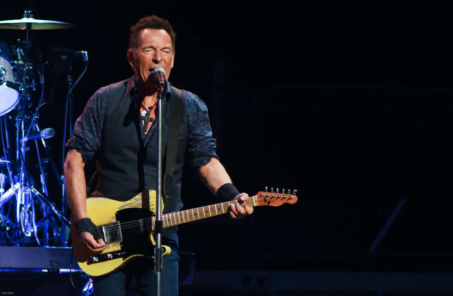 Hour photo/John Nash - The legendary Bruce Springsteen and the E Street Band was at the XL Center on Wednesday night.