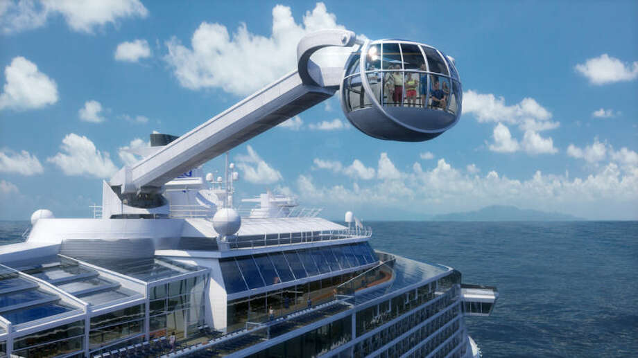 This computer-generated image provided by the Royal Caribbean International cruise line shows its forthcoming ship, Quantum of the Seas. Quantum is expected to launch in November and is one of the cruise industry's most highly anticipated ships of 2014. (AP Photo/Royal Caribbean International)