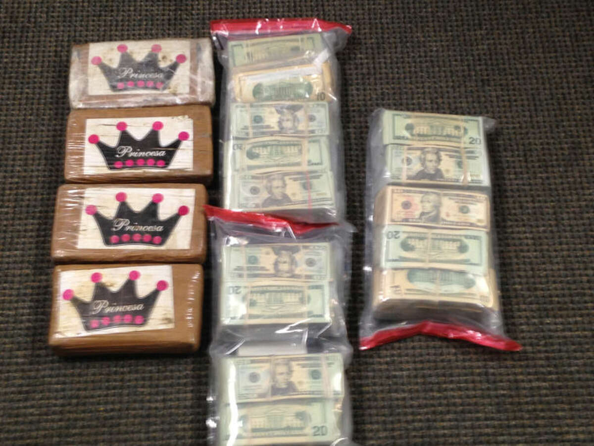 Submitted photo Drugs and money seized in bust in Norwalk.