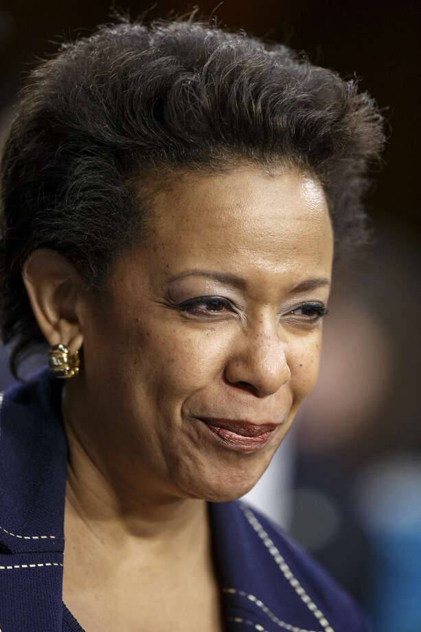 Attorney general nominee Loretta Lynch appears on Capitol Hill in Washington, Wednesday, Jan. 28, 2015, before the Senate Judiciary Committee's confirmation hearing. If confirmed, Lynch would replace Attorney General Eric Holder, who announced his resignation in September after leading the Justice Department for six years. She is now the U.S. Attorney for the Eastern District of New York. This is the first nomination hearing under the new Republican majority. (AP Photo/J. Scott Applewhite)