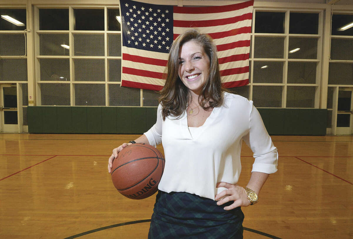 Brittany English is seven years removed from her own Wilton High School athletic career, but she's giving back via a coaching career and developing children for what comes next athletically.