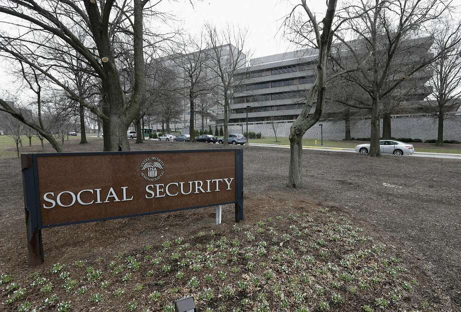 This file photo shows the Social Security Administration's main campus in Woodlawn, Md. An employee at the  agency's office in Champaign, Ill., was terminated after refusing to watch a 17-minute video about LGBT diversity on several occasions. Photo: Patrick Semansky, Associated Press