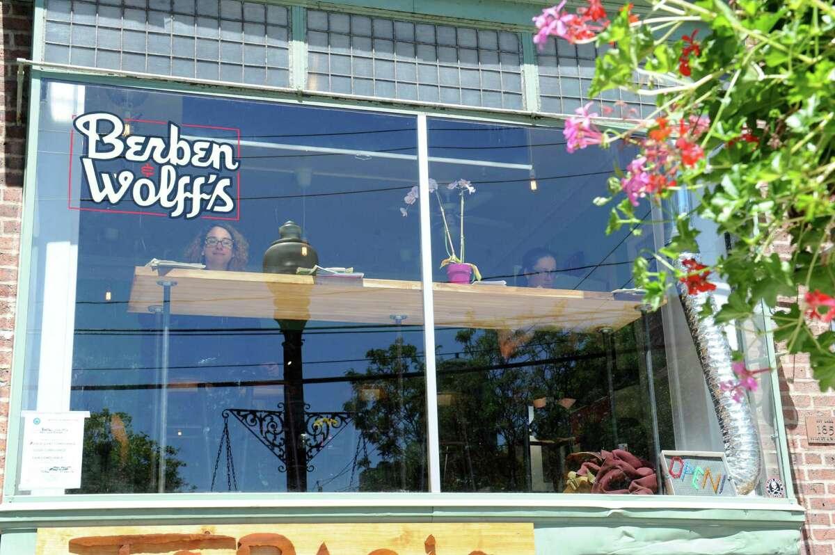 Exterior of Berben & Wolff's vegan delicatessen on their grand opening day at 227 Lark St. Friday, June 10, 2016 in Albany, N.Y. (Lori Van Buren / Times Union)