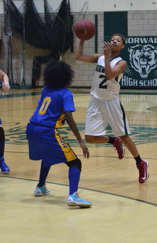 Norwalk defeated Harding 68-32 in FCIAC girls basketball action on Friday night.