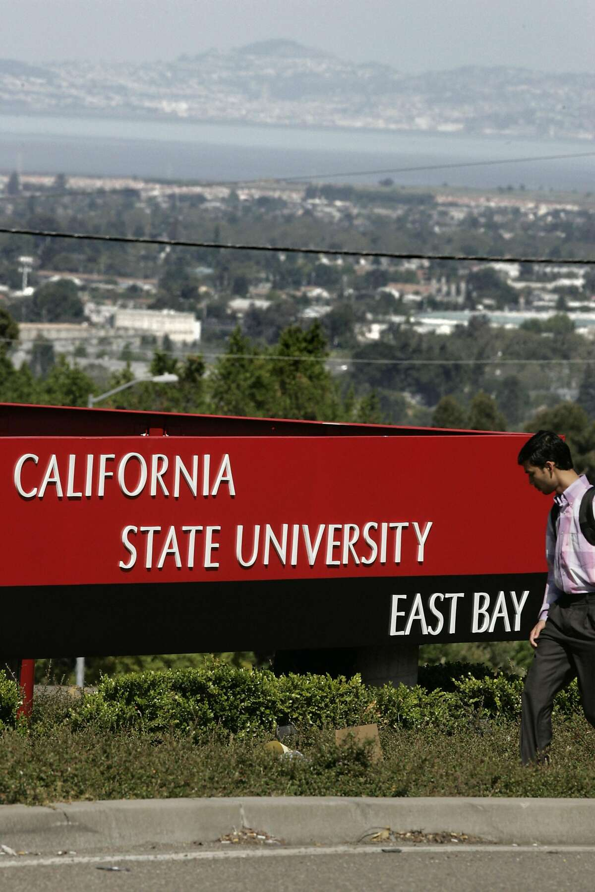 California State University East Bay Student enrollment:14,823 Number of rape reports per 1,000 students:0.1 Total assaults:1