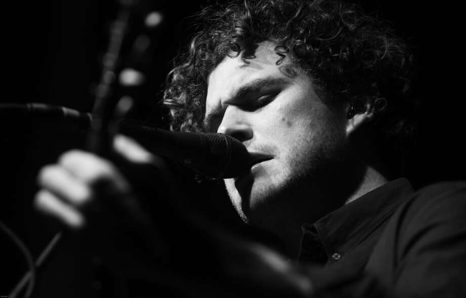 Hour photo/John Nash - Up-and-coming singer-songwriter Vance Joy, who hails from Australia, played at The Dome at Oakdale on Thursday night.