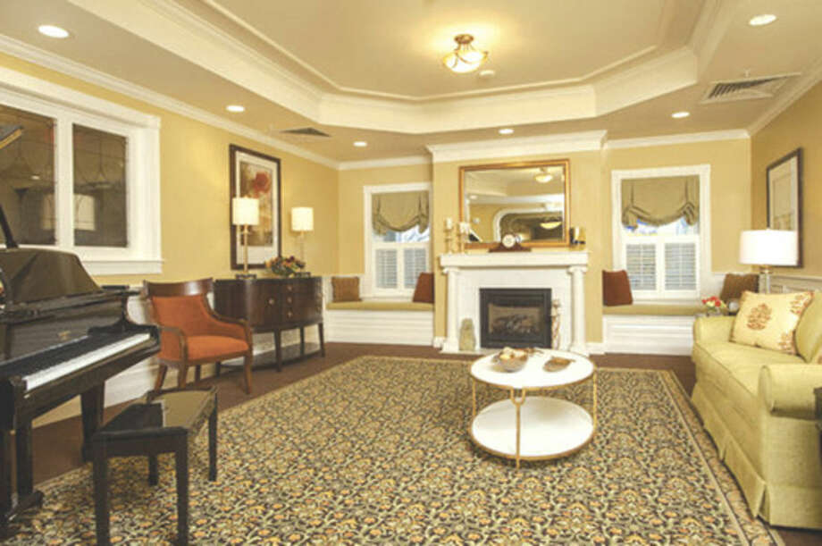 An interior view of Brightview on New Canaan, a 90-apartment home assisted living community that opened Jan. 25 at 162 New Canaan Ave. in Norwalk.