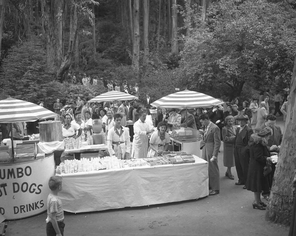 Stern Grove through the years: A free concert at Sigmund Stern Grove July, 1939