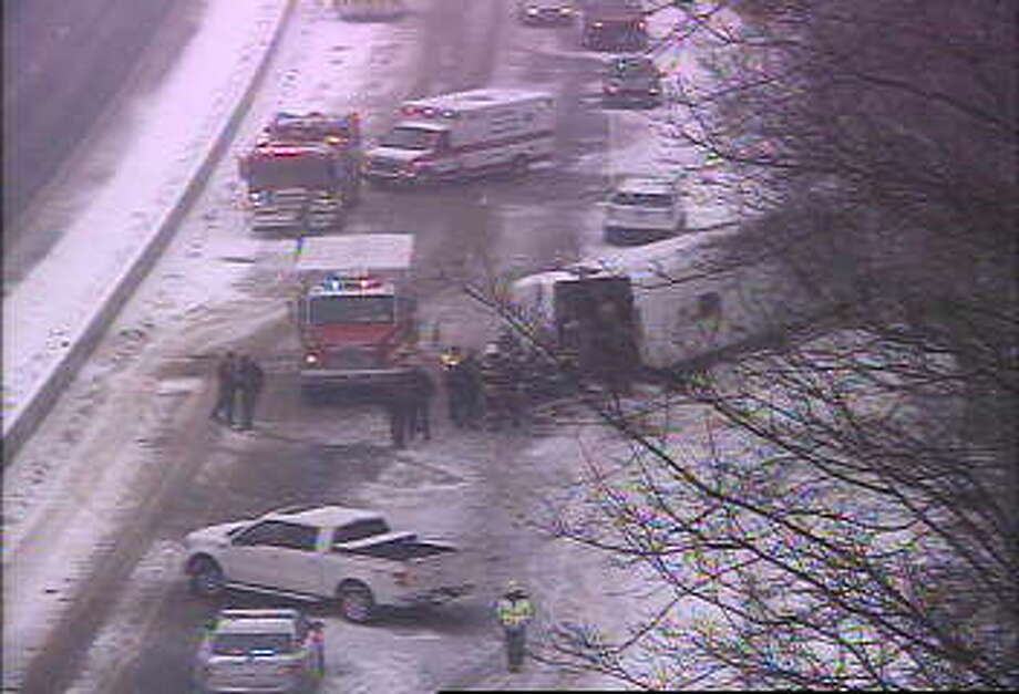 Accident on 95 in Madison