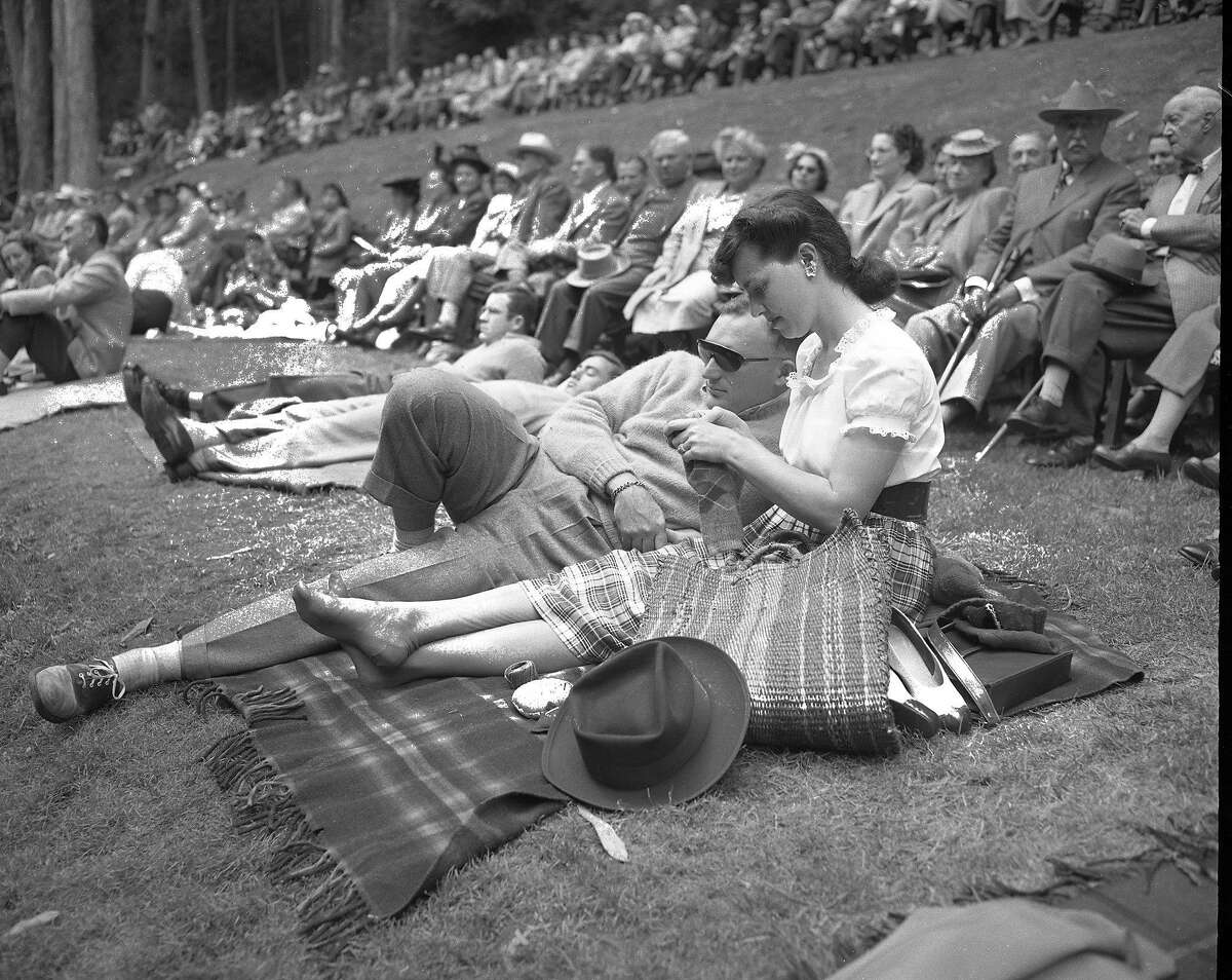 A free concert at Sigmund Stern Grove July, 1939