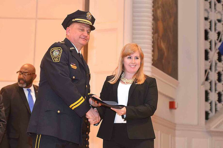 Hour Photo/Alex von Kleydorff Norwalk Police Department Annual Awards Ceremony