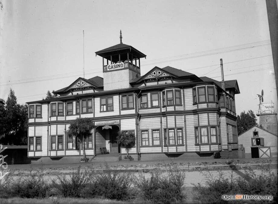 1920's: Golden Gate Park Casino 1920s, 24th & Fulton. Courtesy of OpenSFHistory.org. Photo: Courtesy Of OpenSFHistory.org