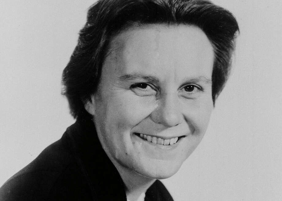 "FILE - This March 14, 1963 file photo shows Harper Lee, author of the Pulitzer Prize-winning novel, ""To kill a Mockingbird."" Publisher Harper announced Tuesday, Feb. 3, 2015, that ""Go Set a Watchman,"" a novel Lee completed in the 1950s and put aside, will be released July 14. It will be her second published book. (AP Photo, File)"