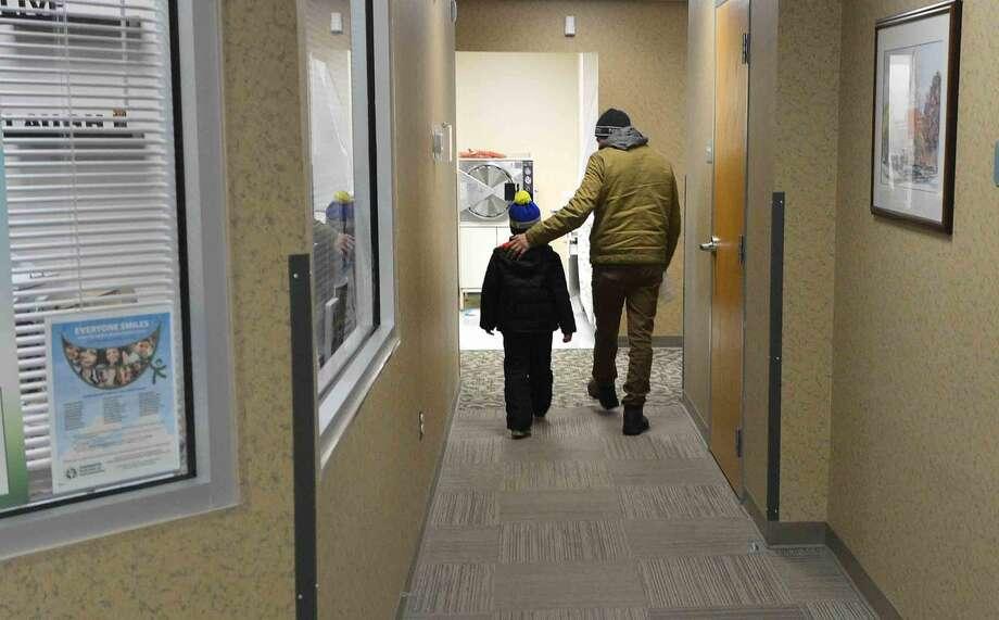 Hour Photo/Alex von Kleydorff Give a Kid a Smile Day at Community Health Center