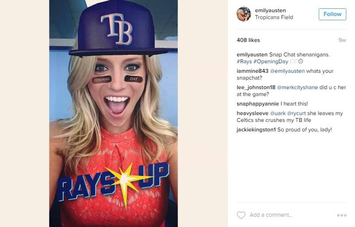 FOX Sports reporter Emily Austen came under fire Thursday for remarks she made on a live Facebook video broadcast though Barstool Sports.