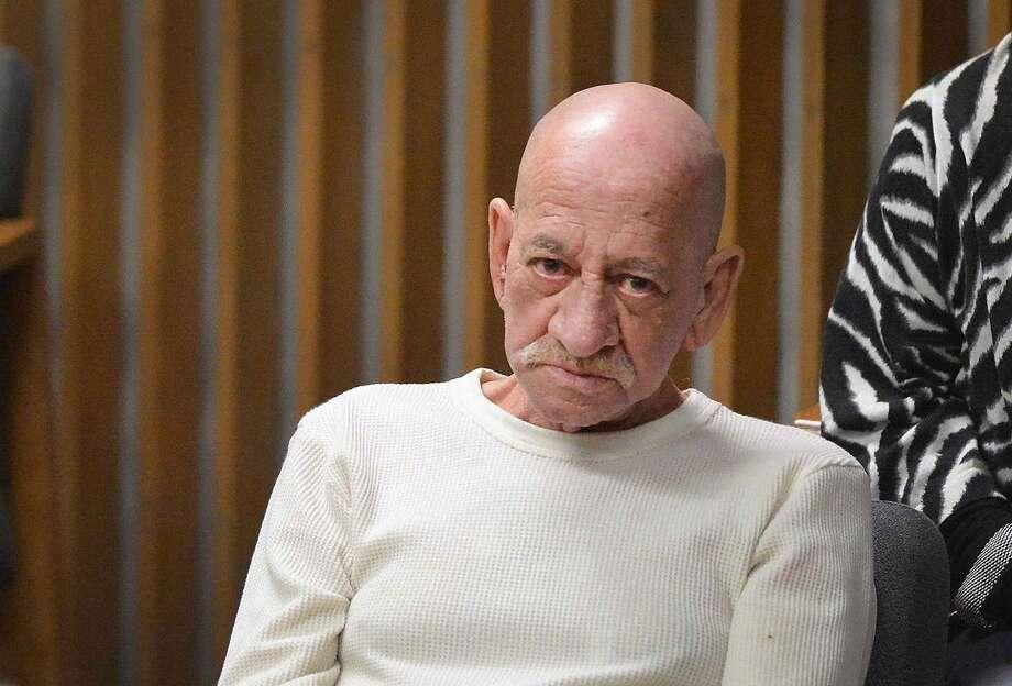 Hour Photo/Alex von Kleydorff Jose Rodriguez is arraigned in Norwalk Superior Court on Thursday