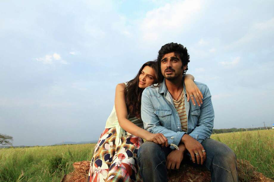 """Arjun Kapoor and Deepika Padukone star in the romantic road comedy, """"Finding Fanny."""" Photo: Contributed Photo / Connecticut Post Contributed"""