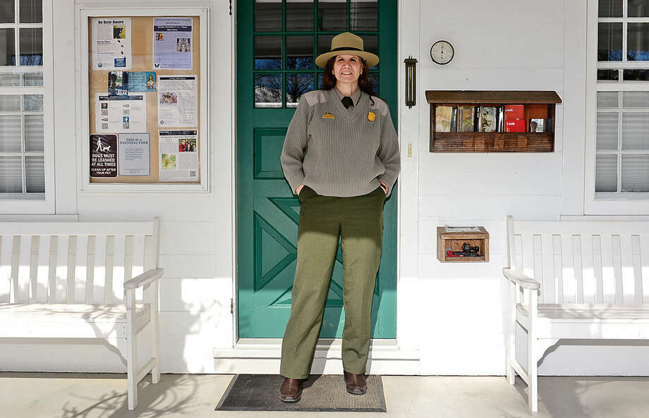 HWeir Farm Superintendent Linda Cook won the National Park Service's Appleman-Judd-Lewis Award for Excellence in Cultural Resource Stewardship for her work at the national heritage site in Wilton.