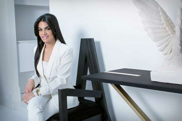 Designer Nina Magon created the interiors of the new 51Fifteen Restaurant at Saks Fifth Avenue Galleria.