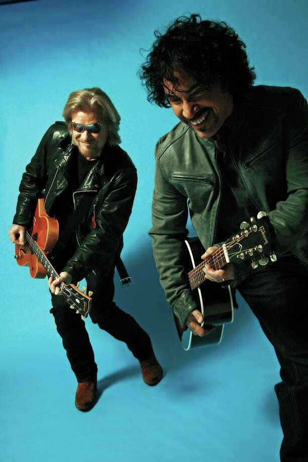 Daryl Hall, left, and John Oates will perform at Webster Bank Arena in Bridgeport on Thursday, June 16. Photo: Mick Rock / Contributed Photo / The News-Times Contributed