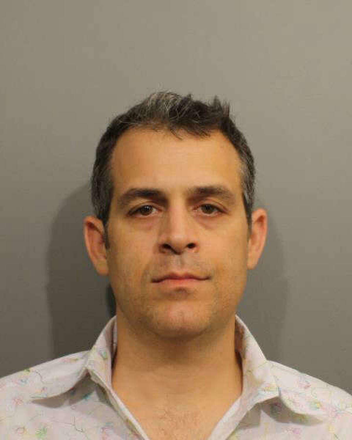 This booking photo provided by the Wilton Police Department shows Matthew J. Criscuolo Jr. Criscuolo is accused of pumping septic waste from his business into a Sugar Hollow Road storm drain.