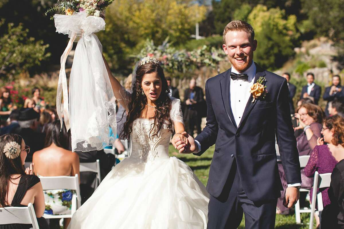 Alia Al-Sharif and Cameron McDonald married Sept. 6, 2015, at Hilltop Ranch, part of Cima Collina Winery in Carmel Valley