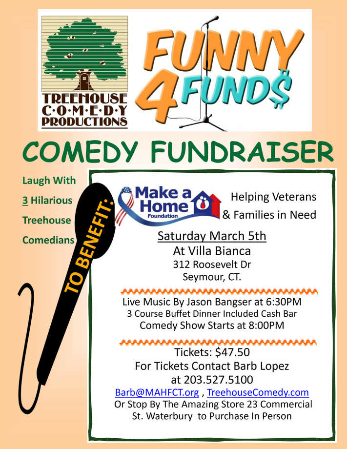 nonprofit to benefit from comedy fundraiser in seymour the hour