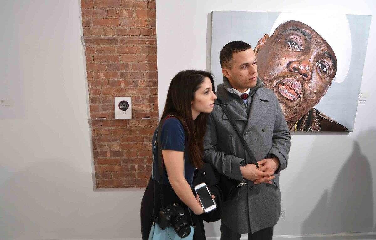 Hour Photo/Alex von Kleydorff Love Art Gallery and Studio opens in SONO on Friday nighjt