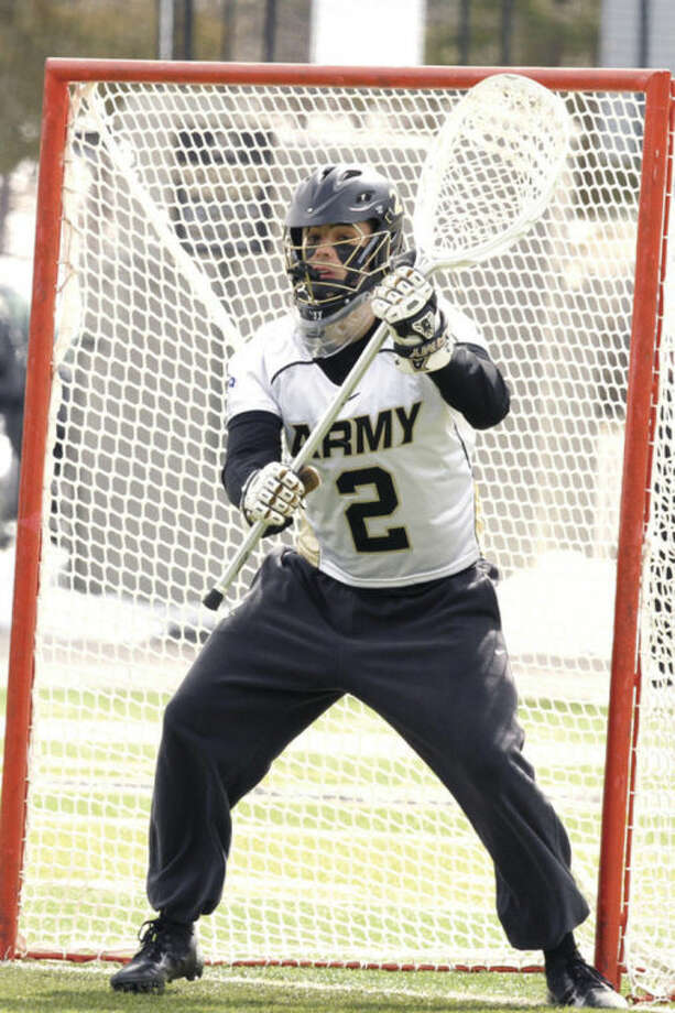 Contributed PhotoFormer Wilton High goaltender Sam Somers has the nation's lowest goals against average, helping Army to a 5-3 record.