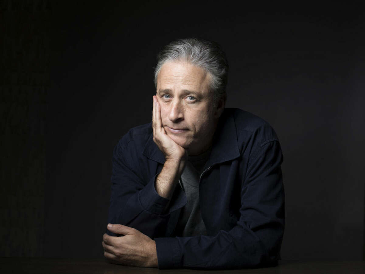 """FILE - In this Nov. 7, 2014 file photo, Jon Stewart poses for a portrait in promotion of his film,""""Rosewater,"""" in New York. Comedy Central announced Tuesday, Feb. 10, 2015, that Stewart will will leave """"The Daily Show"""" later this year. (Photo by Victoria Will/Invision/AP, File)"""