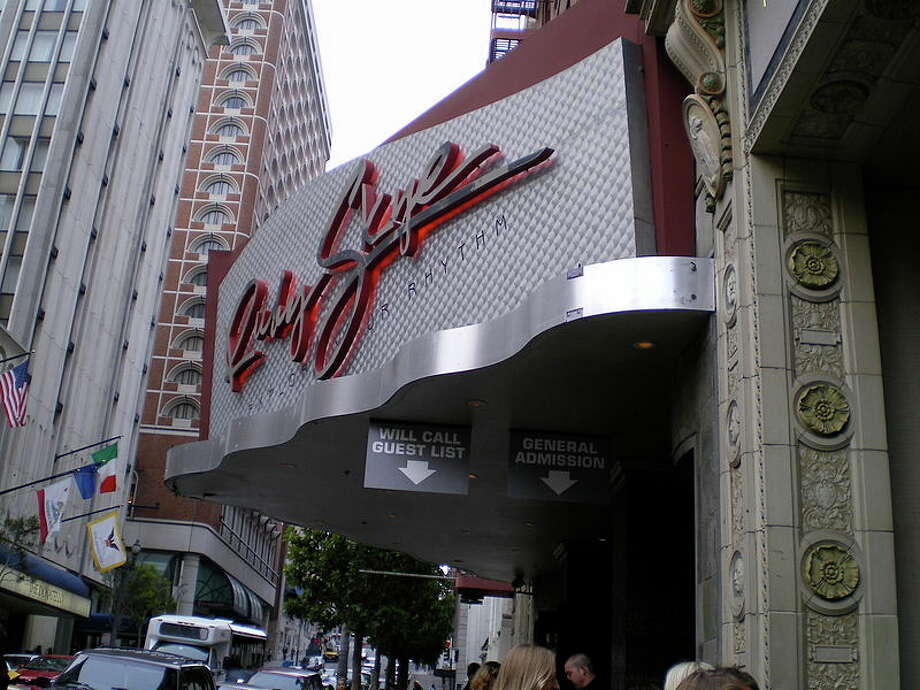 Ruby Skye nightclub's exterior.