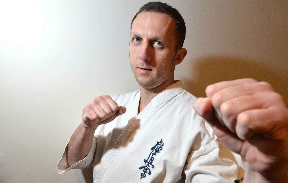 Wilton resident Marek Mroz will show of his karate skills while representing North America at the Team Championships in Sao Paolo, Brazil in July.