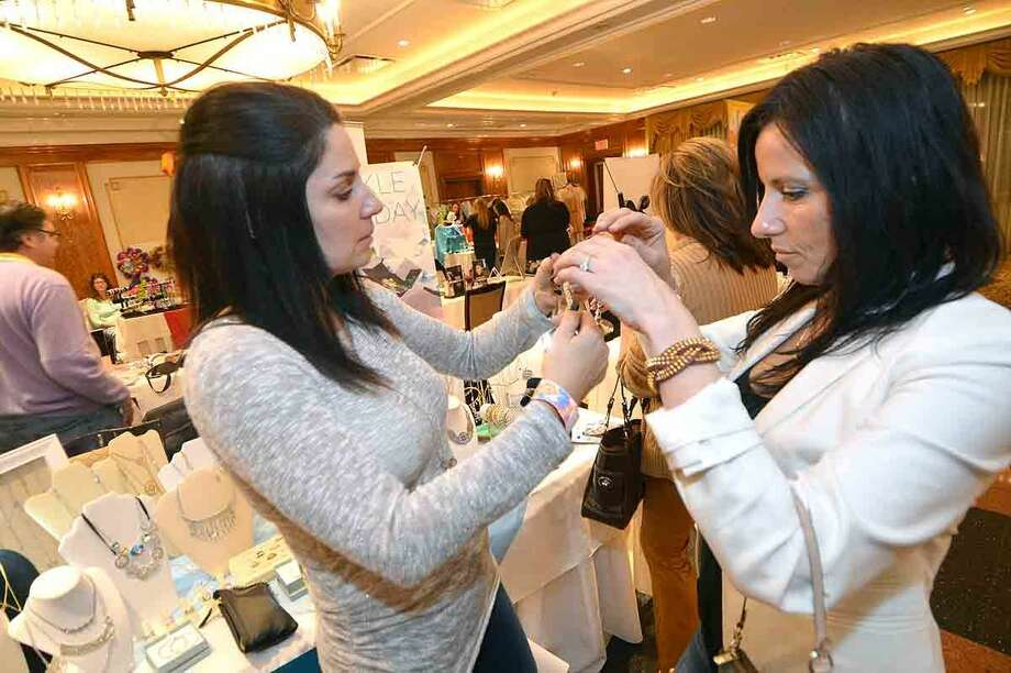 Hour Photo/Alex von Kleydorff Third Annual Beauty and the Bubbly