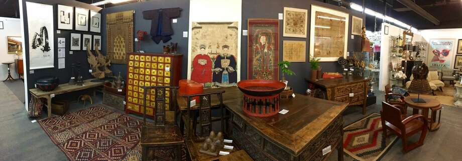 Chinalai Tribal Antiques Booth at Fairfield County Antique & Design Center
