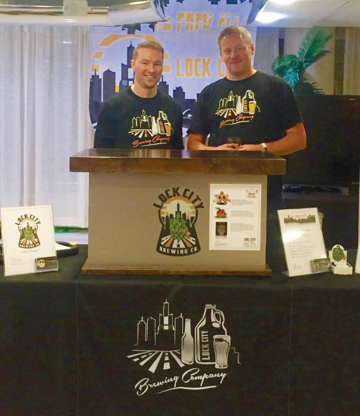 Michael Bushnell and Patrick Casciolo will open Lock City Brewing on Research Drive in Stamford.