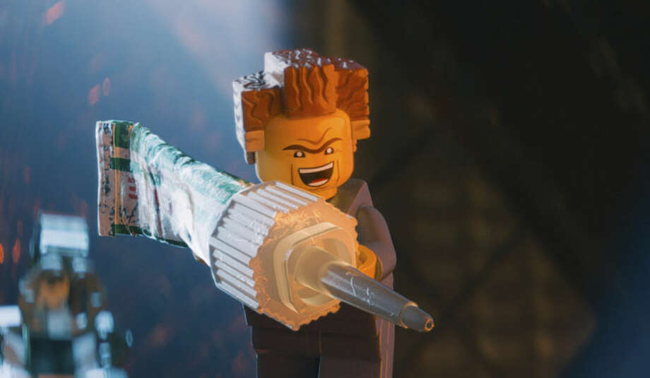 """This image released by Warner Bros. Pictures shows the character President Business, voiced by Will Ferrell, in a scene from """"The Lego Movie."""" (AP Photo/Warner Bros. Pictures)"""