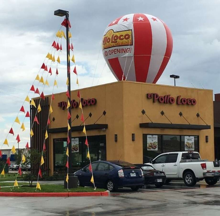 Retail wrap el pollo loco adds its 12th area location for Michaels craft store houston