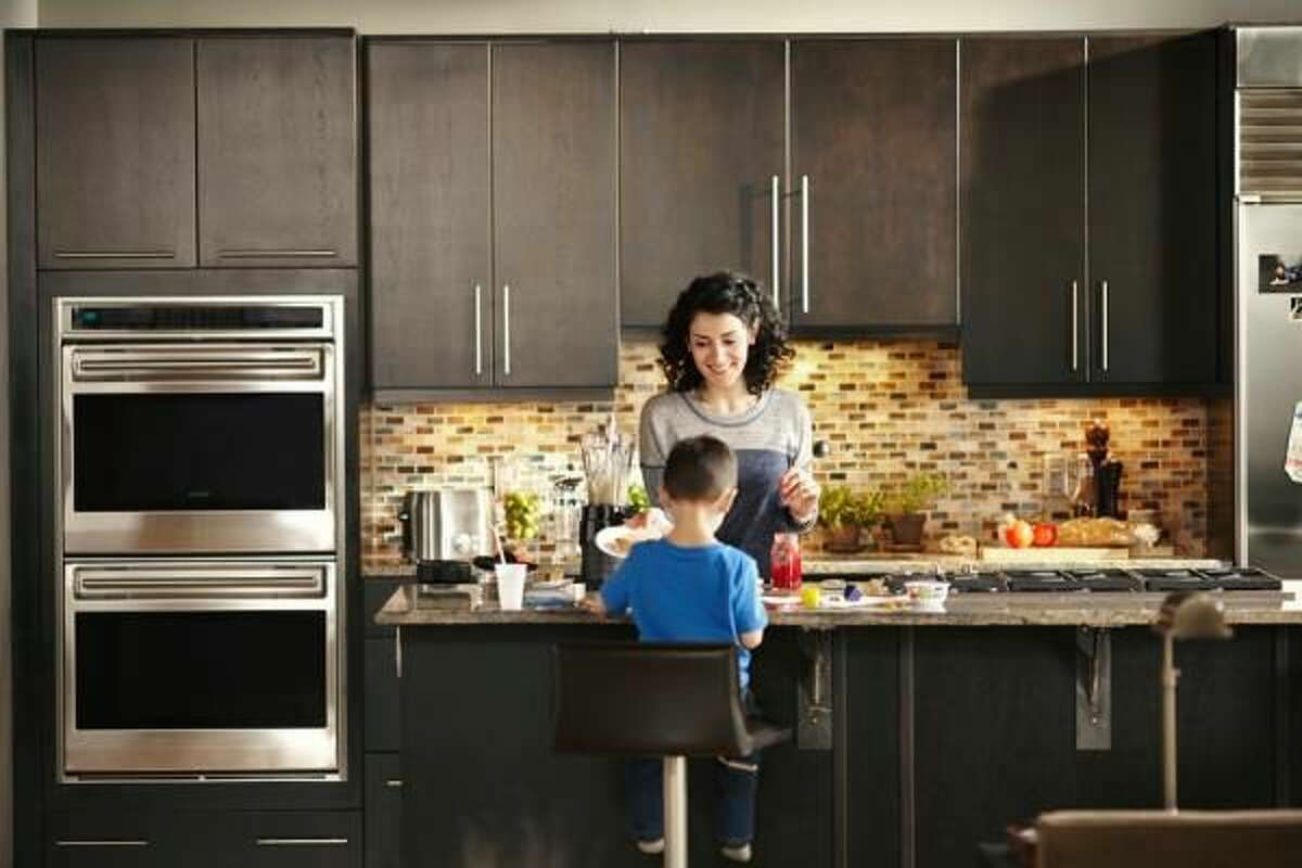 Seek out compact multitasking appliances to save counter space.