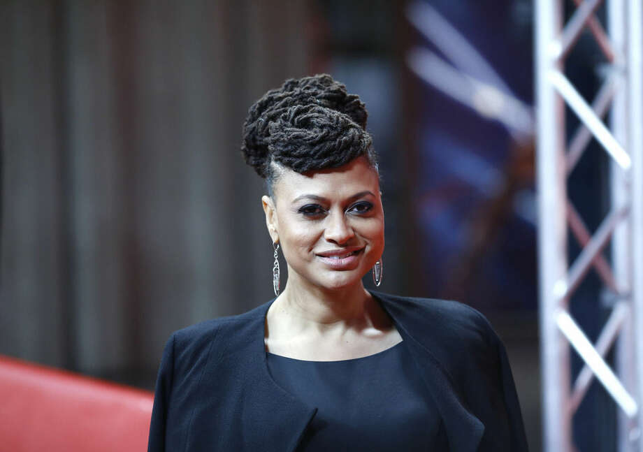 Director Ava Duvernay poses for photographers on the red carpet for the film Selma at the 2015 Berlinale Film Festival in Berlin, Tuesday,Feb. 10, 2015. (AP Photo/Markus Schreiber)