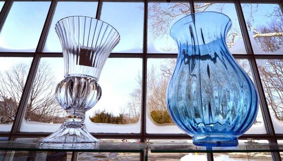 Hour Photo/Alex von Kleydorff Vases in the window at The Turnover Shop