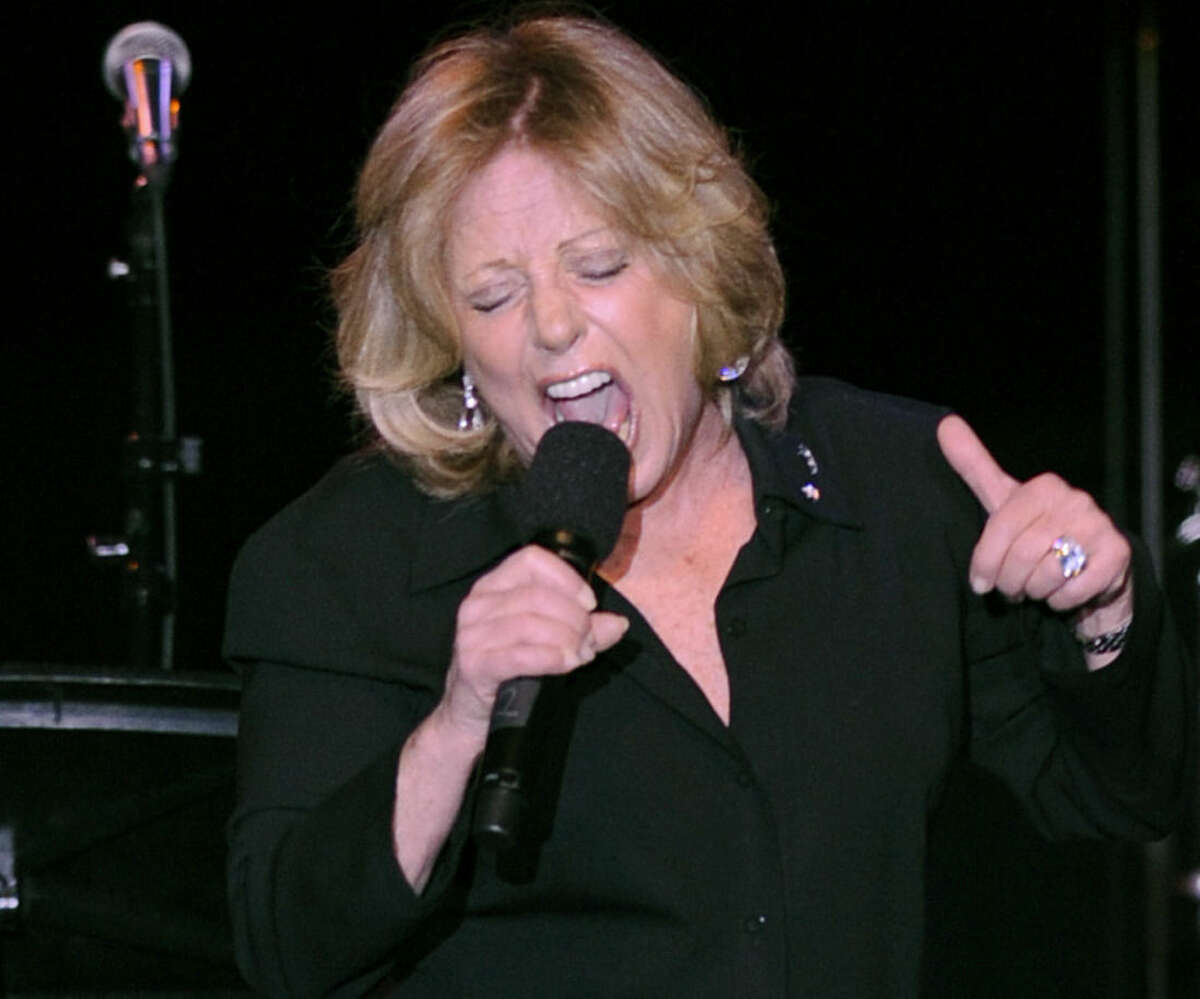 FILE - In this Tuesday, April 22, 2008, file photo, Lesley Gore performs at the ASCAP musical tribute which honored Quincy Jones with the ASCAP Pied Piper Award, in New York. Singer-songwriter Gore, who topped the charts in 1963 with her epic song of teenage angst,