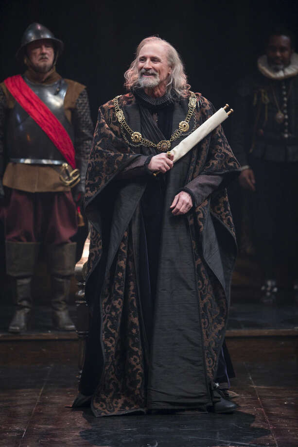 "In this image released by Polk & Co., Colm Feore performs the title role in ""King Lear"" at the Stratford Festival in Stratford, Ontario. Feore's ""Lear,"" will hit 350 movie screens across America on Feb. 25. (AP Photo/Polk & Co., David Hou)"