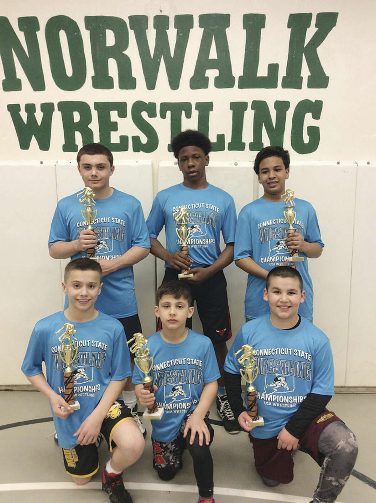 Youth Wrestling: Six Norwalk Mad Bull wrestlers take state championships