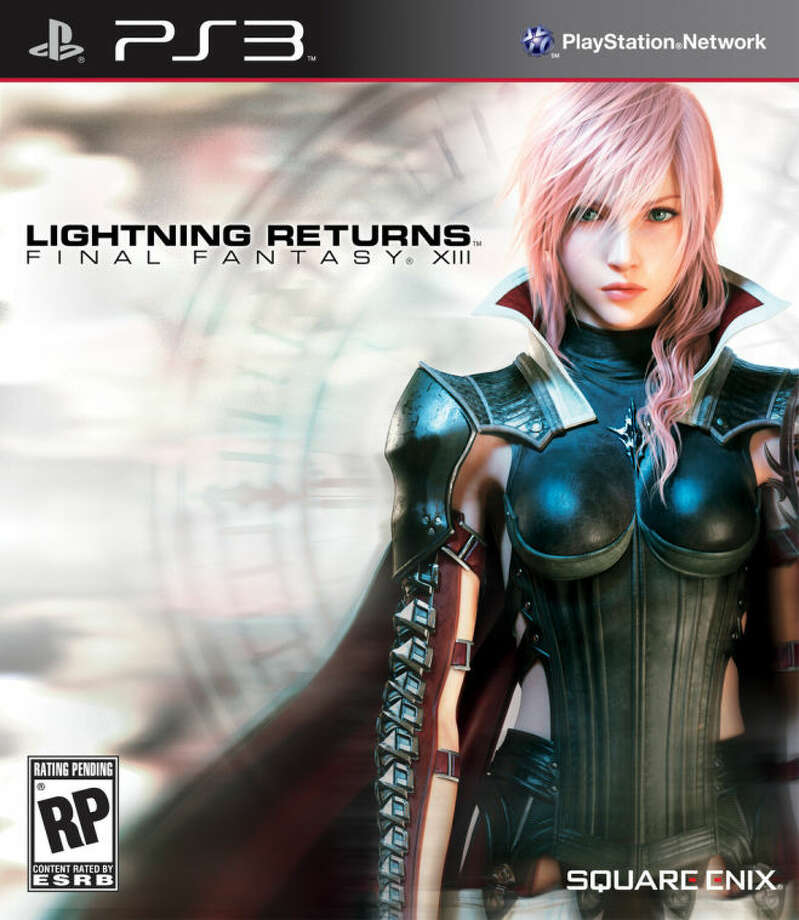 """This image released by Square Enix shows the cover art for the video game """"Lightning Returns: Final Fantasy XIII."""" (AP Photo/Square Enix)"""