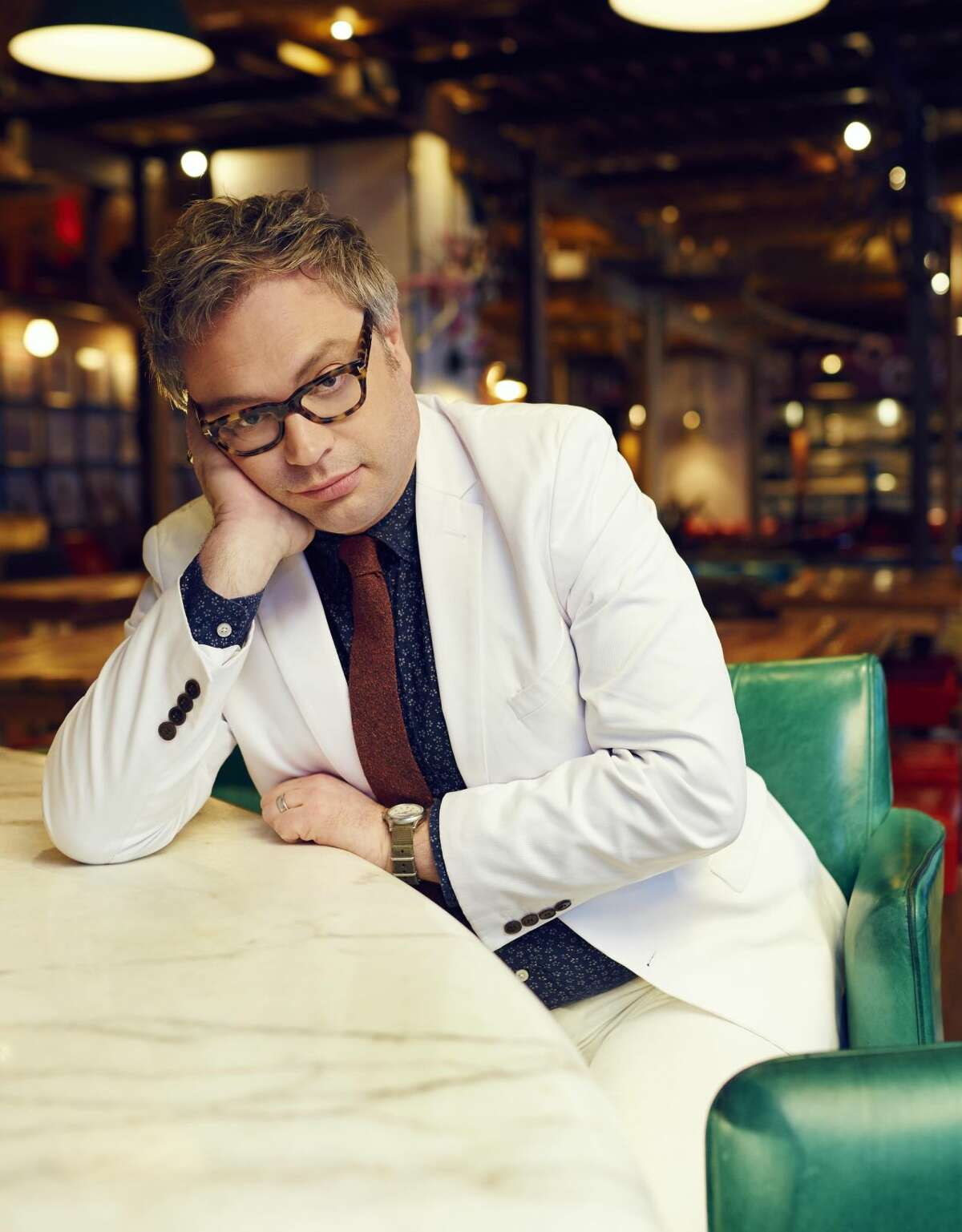 Steven Page, formerly of the Barenaked Ladies, is appearing at Fairfield Theater Company's Stage One on Monday, April 4.