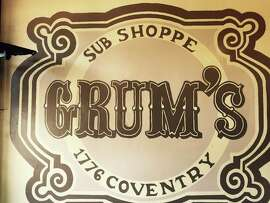 Grum's is one of Cleveland's many famous delis, located on Coventry Road, a bohemian part of town located in the suburb of Cleveland Heights.
