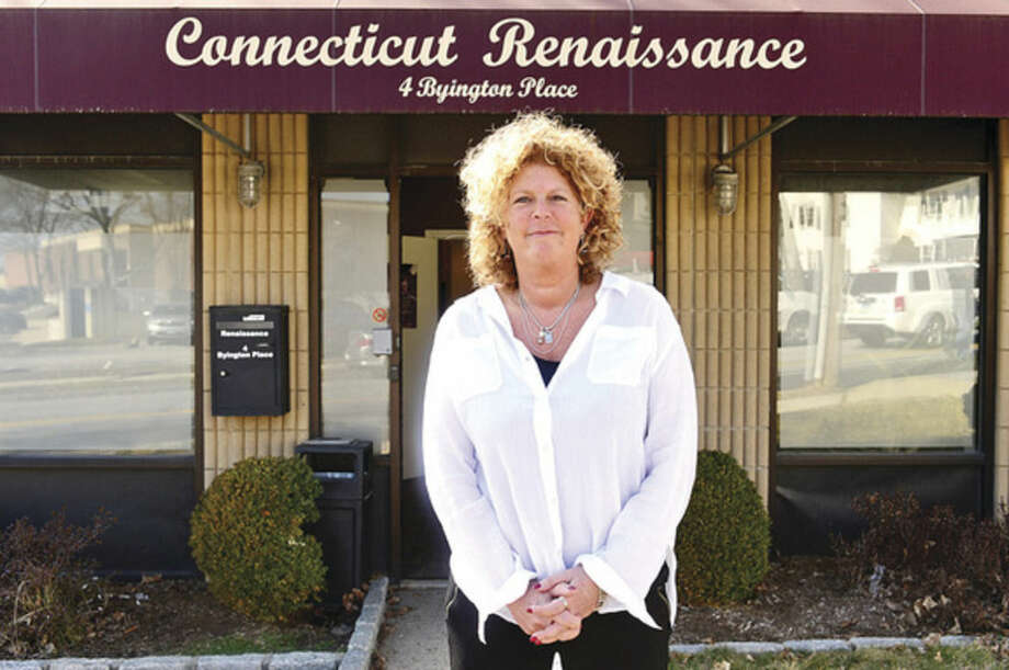 Hour photo/Erik TrautmannMelodie Keene, a case worker at Connecticut Renaissance Norwalk Out Patient Clinic, says the program allows patients the opportunity to take immediate action in beginning treatment.